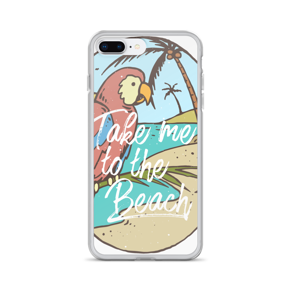 Take Me To The Beach iPhone Case - BlackKohco