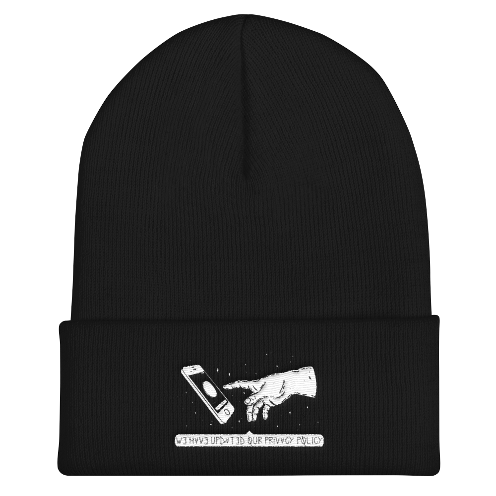 Send To All Cuffed Beanie - BlackKohco