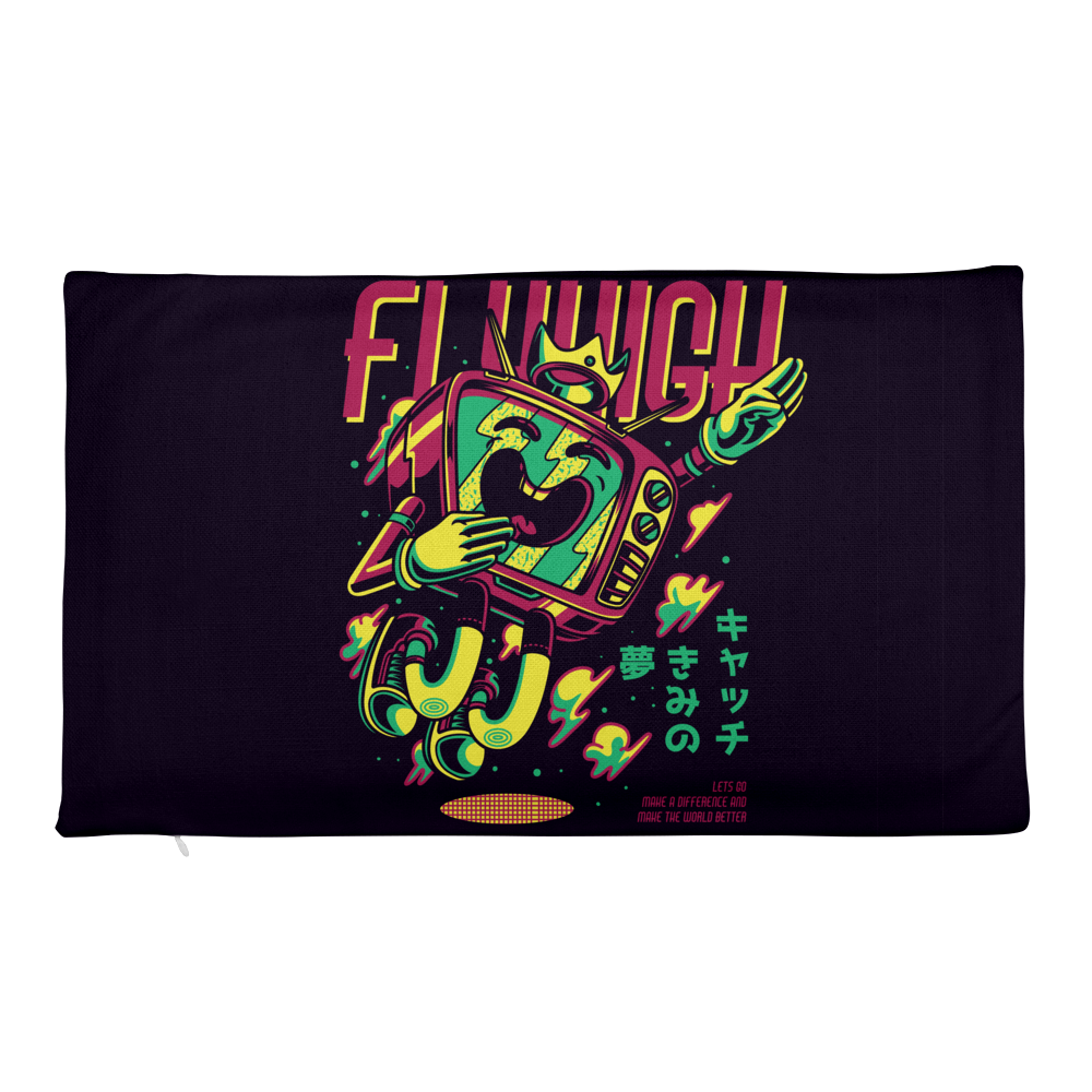 Flyhigh Premium Pillow Case only
