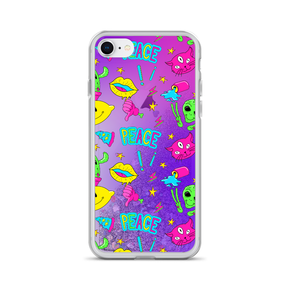 Liquid Glitter Phone Case - BlackKohco