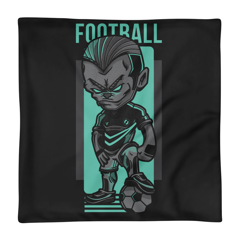 Football Game Basic Pillow Case only - BlackKohco
