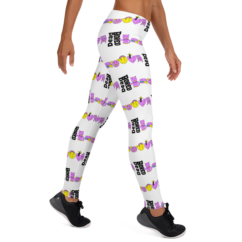 Dead Bored Leggings - BlackKohco