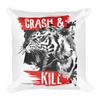 typography-slogan-with-tiger-illustration Basic Pillow - BlackKohco