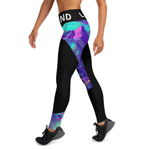 Legend Art Print  Yoga Leggings With Pockets