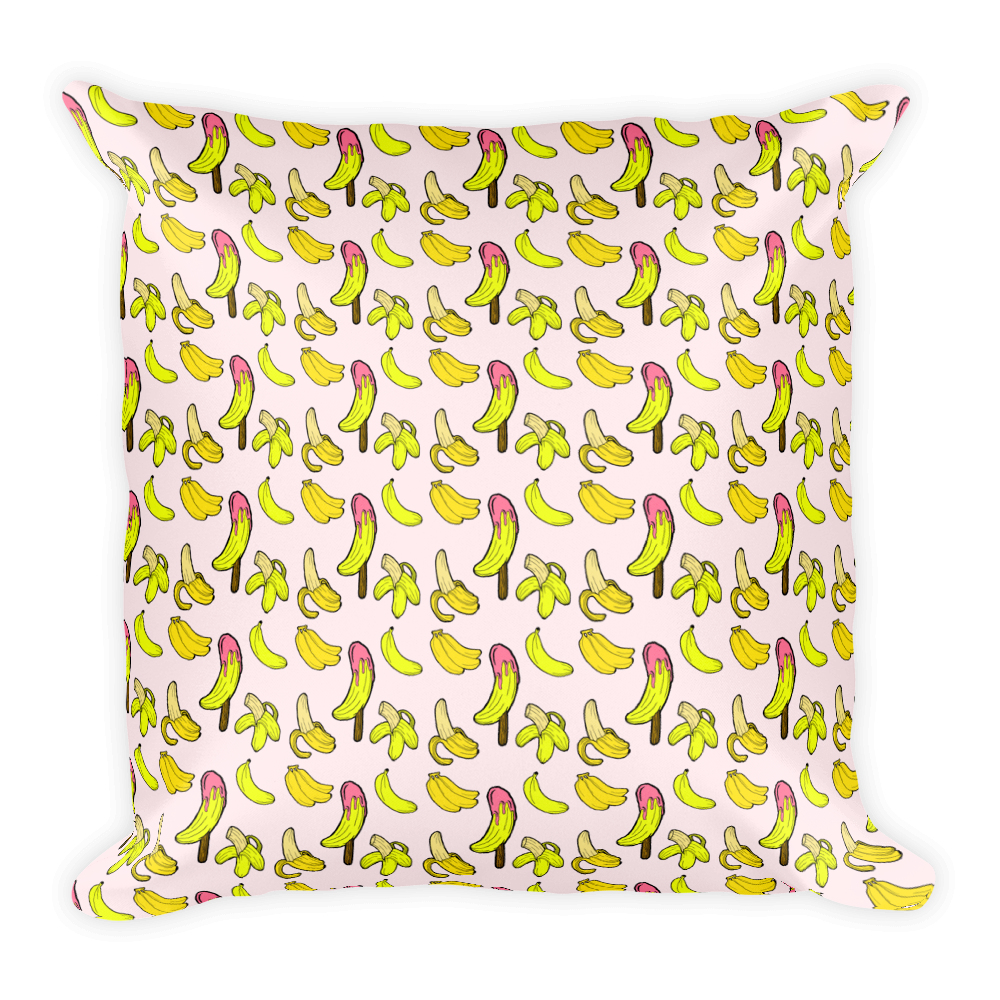 Banana Lush Basic Pillow