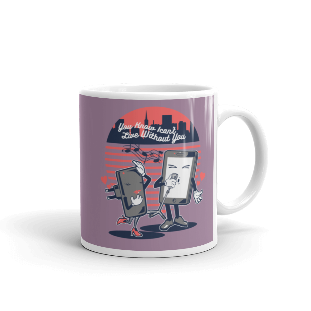 Live Without You Mug - BlackKohco