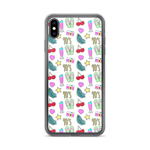 90's Summer iPhone Case