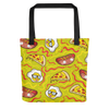 Pizza And Hot Dogs Tote Bag - BlackKohco