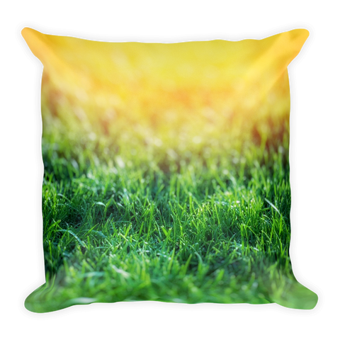 Sunshine In A Field Basic Pillow