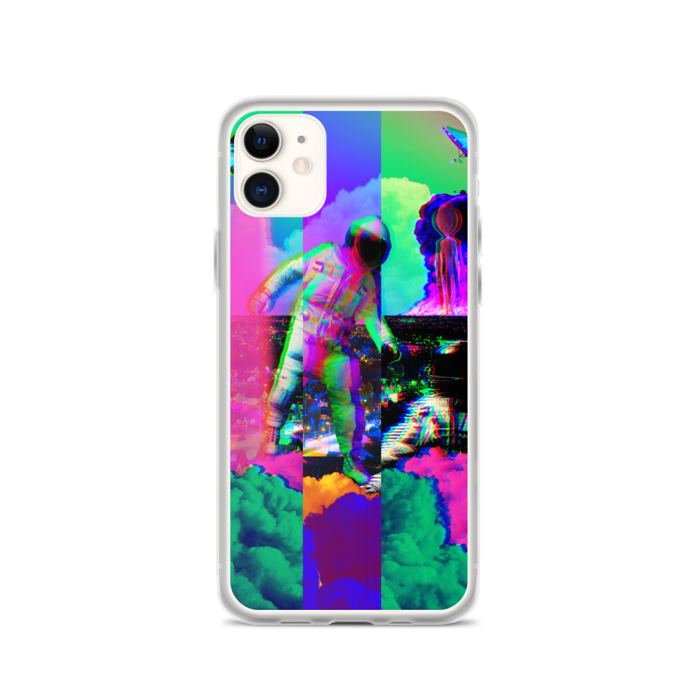 Hectic Space Earth iPhone Case - BlackKohco