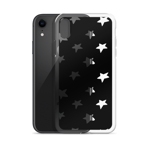 White stars iPhone Case