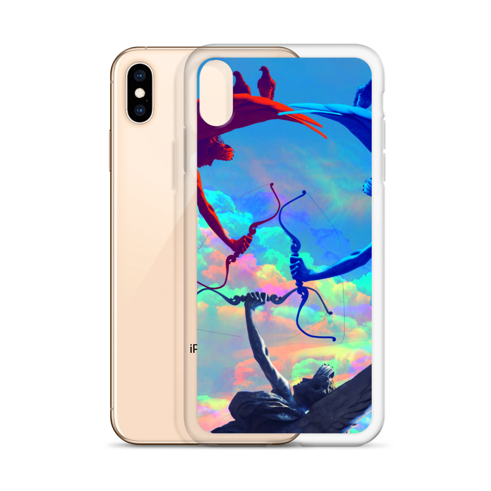 Angels At War iPhone Case - BlackKohco