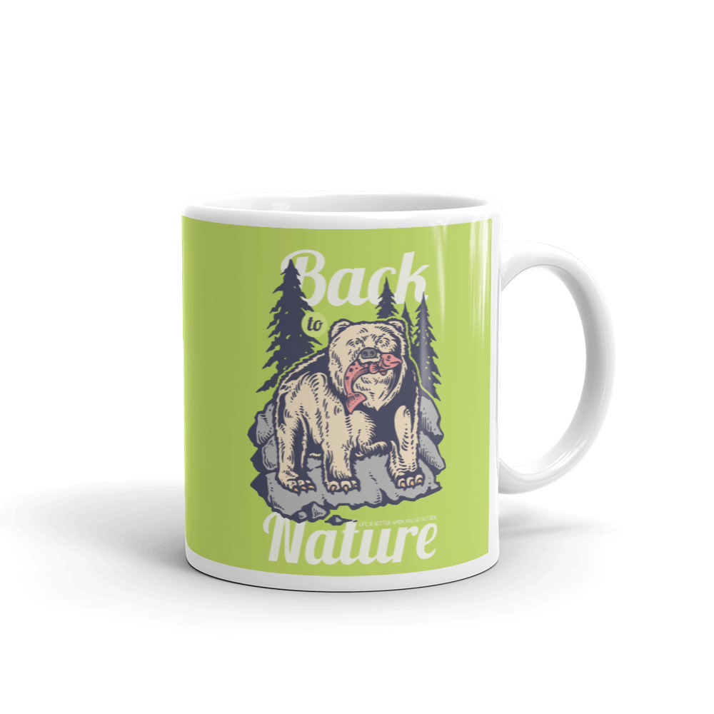 Back To Nature Mug - BlackKohco