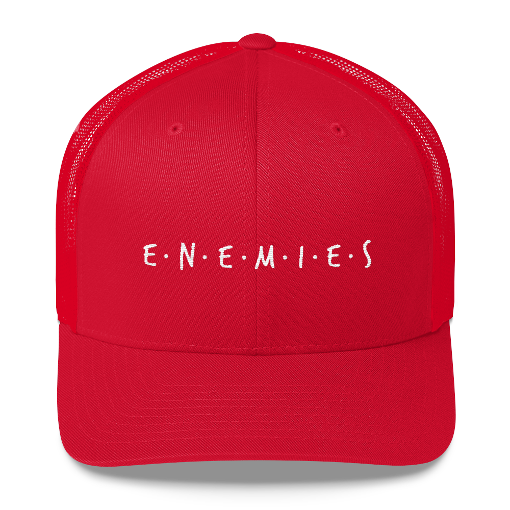 Enemies Trucker Cap - BlackKohco