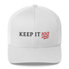 Keep It 100 Trucker Cap - BlackKohco