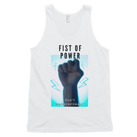 Fist Of Power Classic tank top (unisex)