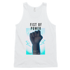 Fist Of Power Classic tank top (unisex) - BlackKohco