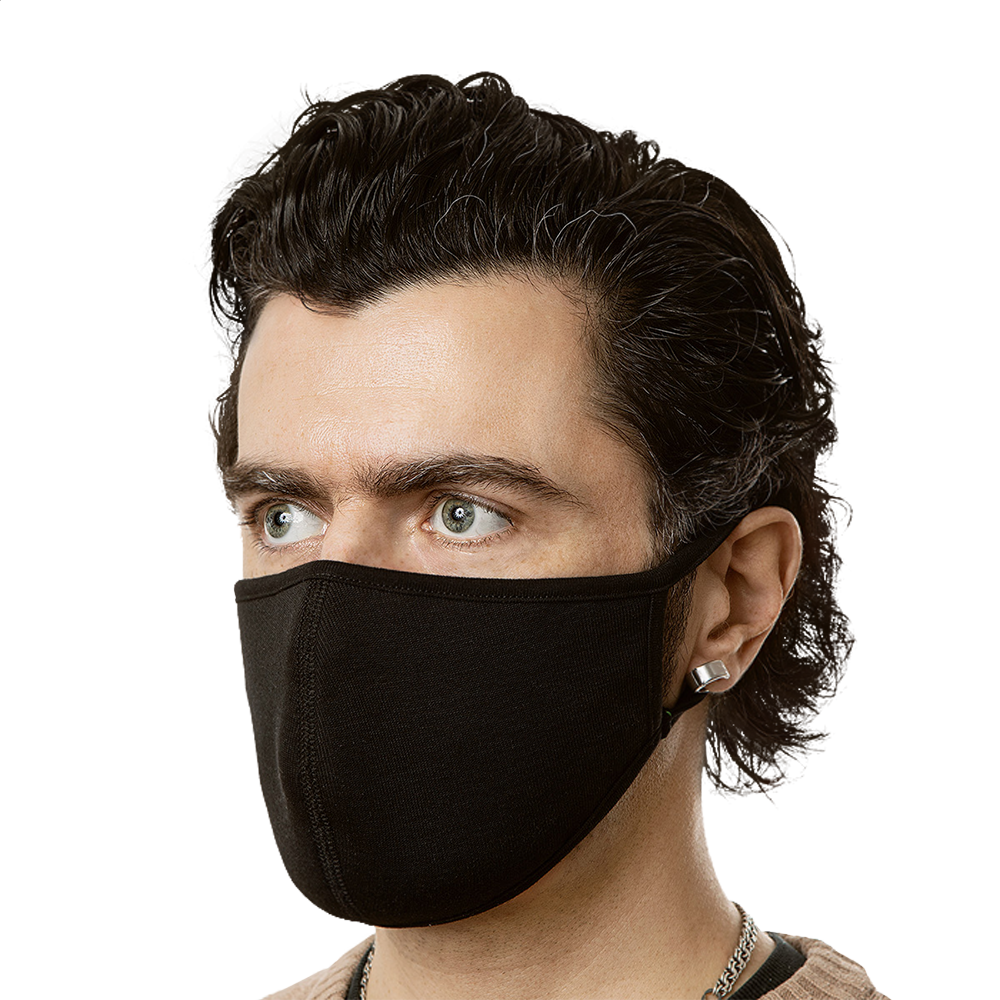 Face Mask (3-Pack) - BlackKohco