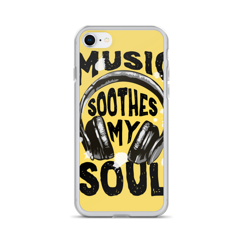 Music Soothes My Soul iPhone Case