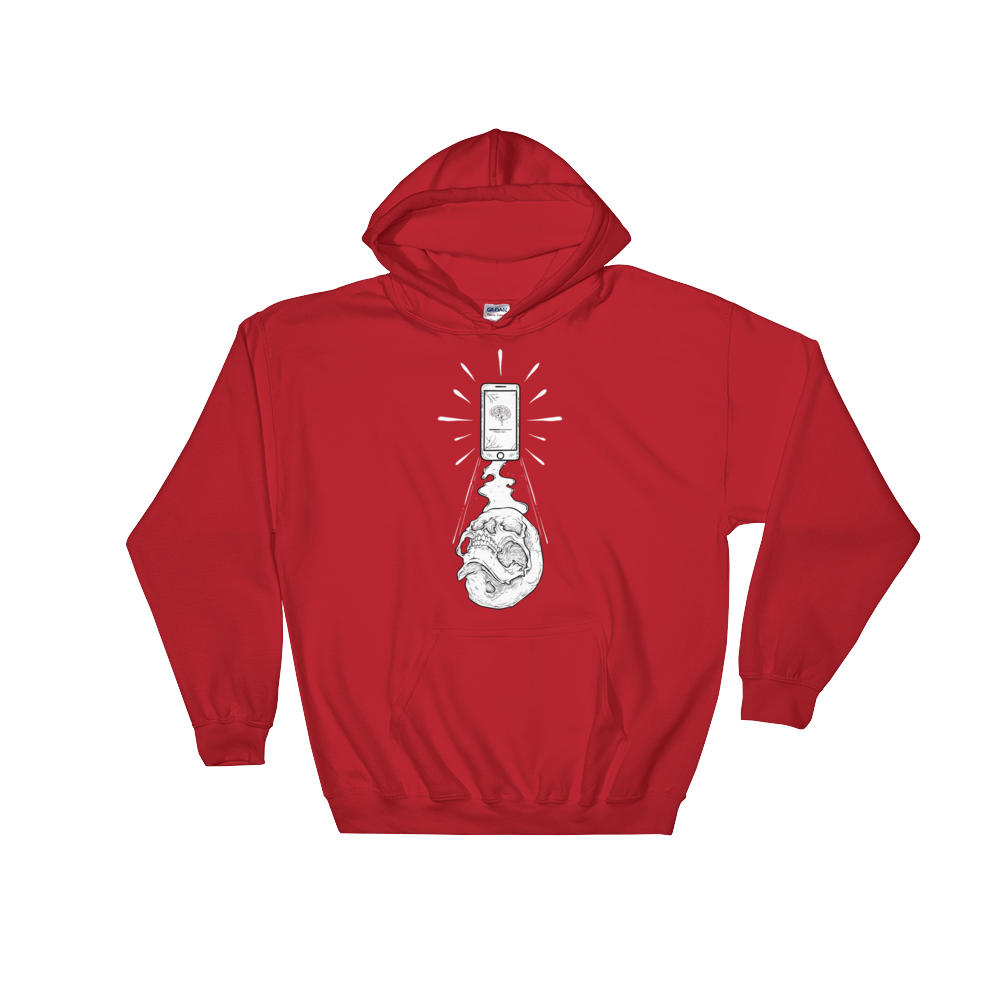 Abduction Hooded Sweatshirt - BlackKohco