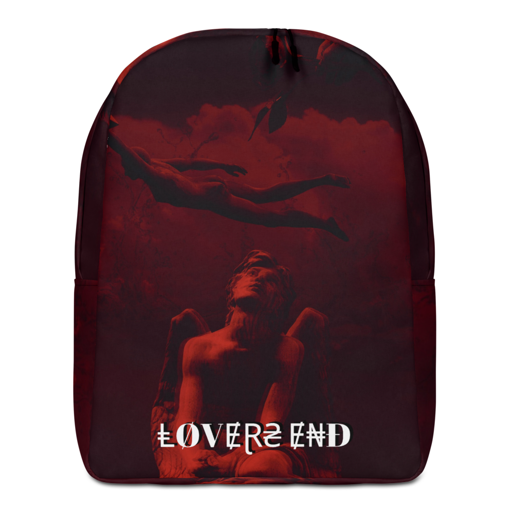 Lovers End Minimalist Backpack - BlackKohco