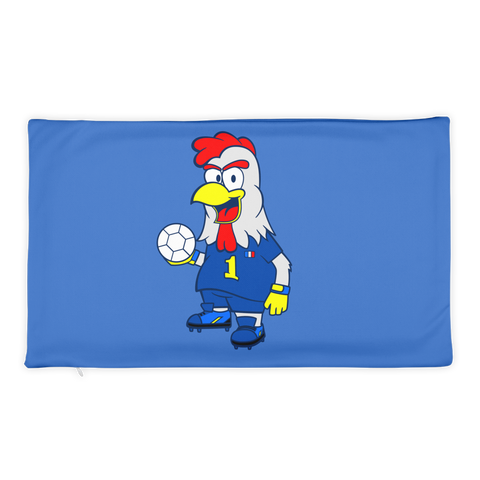 Mascot-Rooster-French-National-Team Basic Pillow Case only