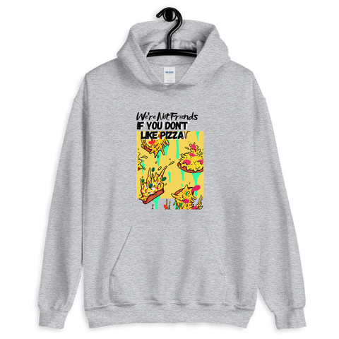 We're Not Friends Hoody