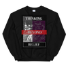 Thinking Beyond Belief Unisex Sweatshirt - BlackKohco