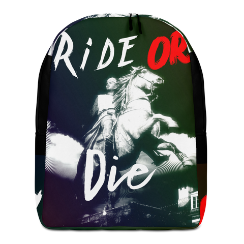 Ride Or Die Minimalist Backpack