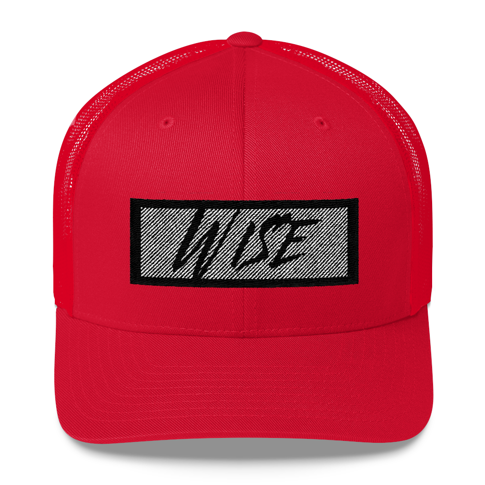 Wise Trucker Cap - BlackKohco