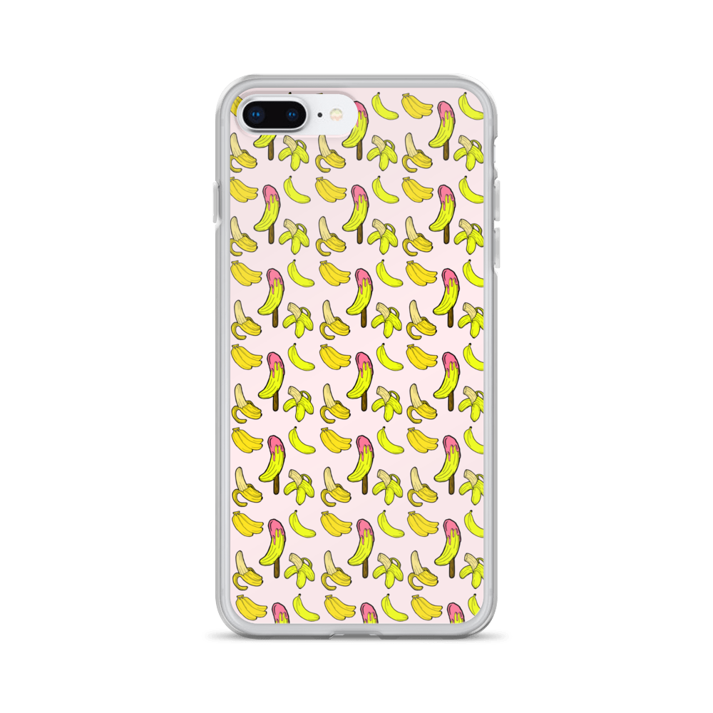 Banana Lush iPhone Case - BlackKohco