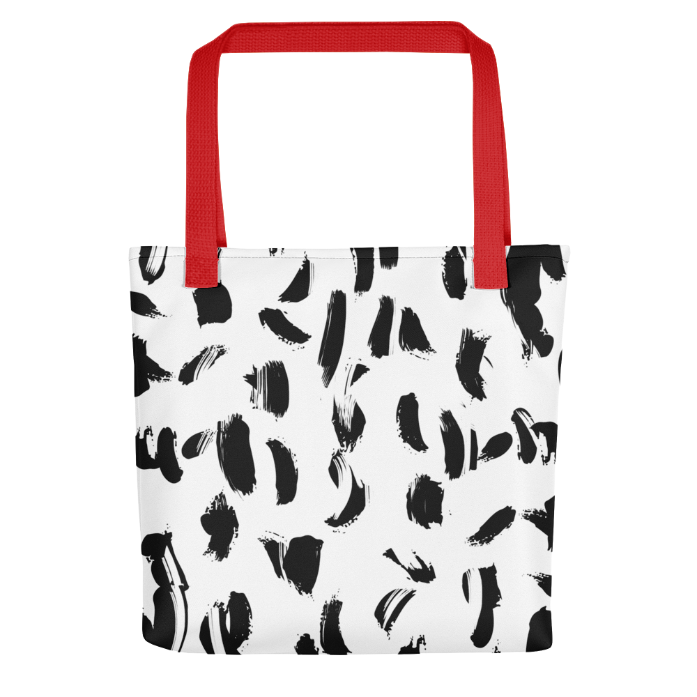 Ink Smudge Tote bag - BlackKohco