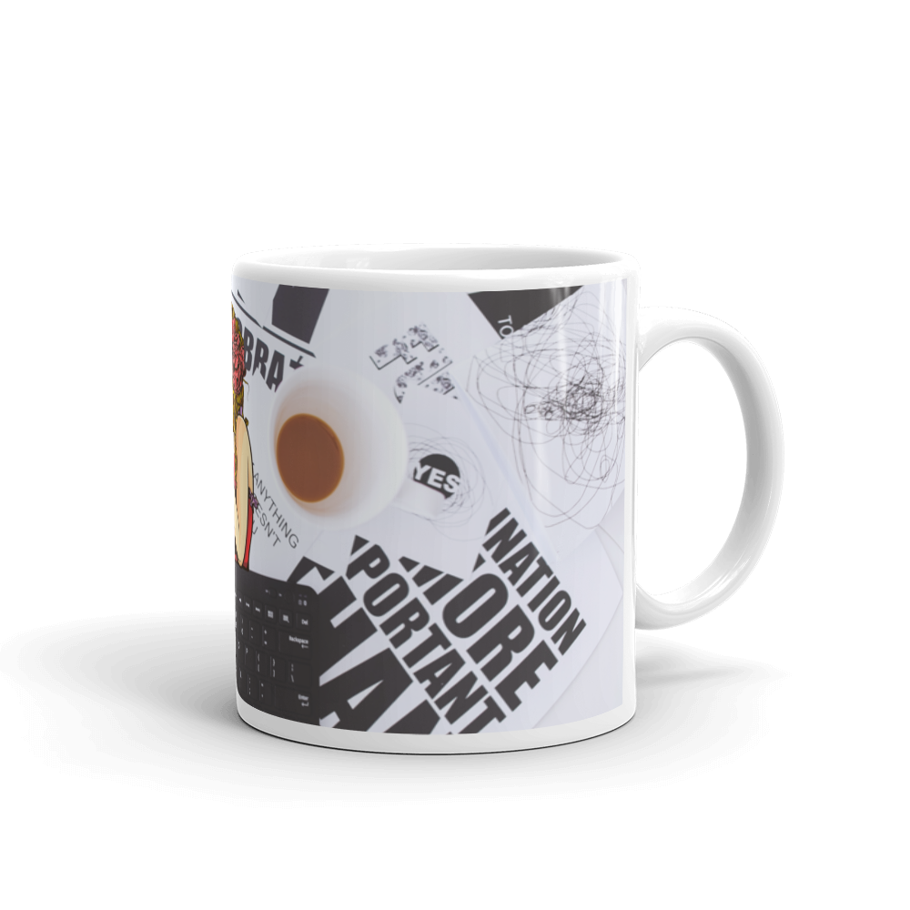 Fashion Workoholic Mug - BlackKohco