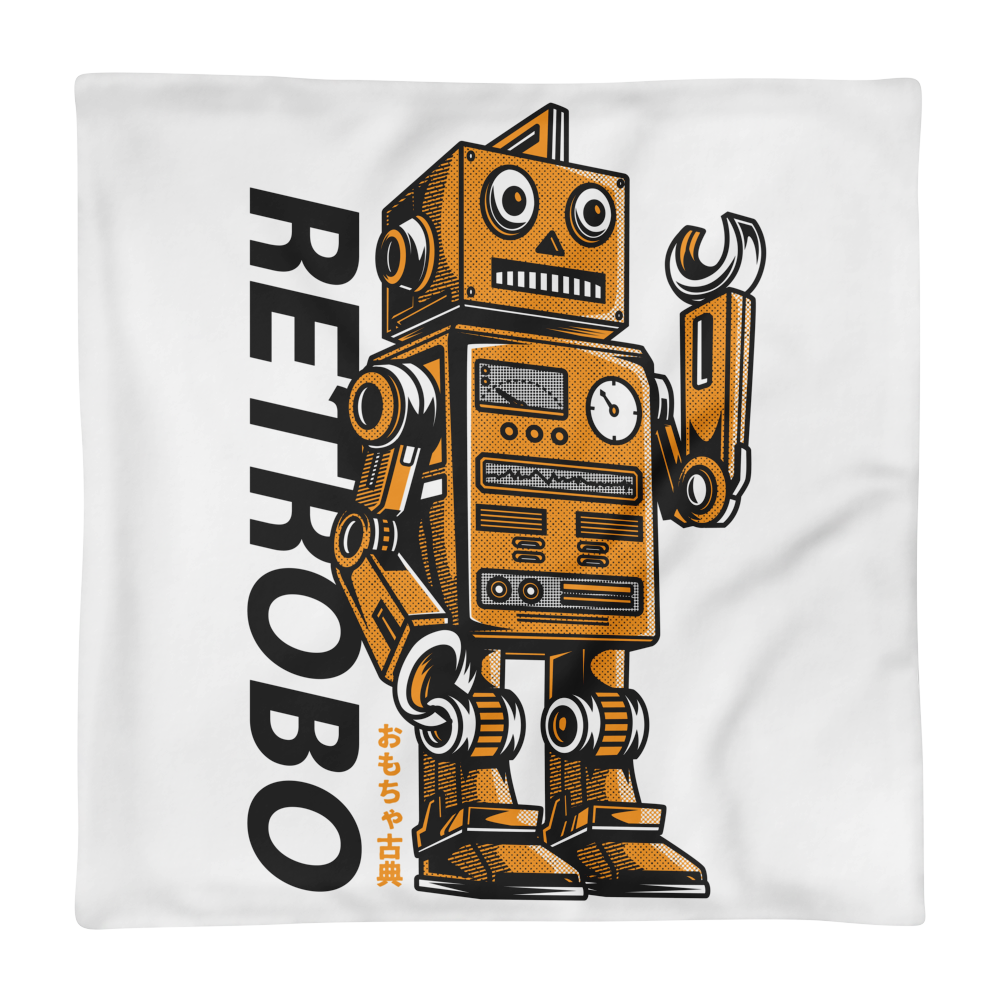 Retrobo Basic Pillow Case only - BlackKohco