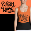 Dream Sublimation Cut & Sew Tank Top - BlackKohco