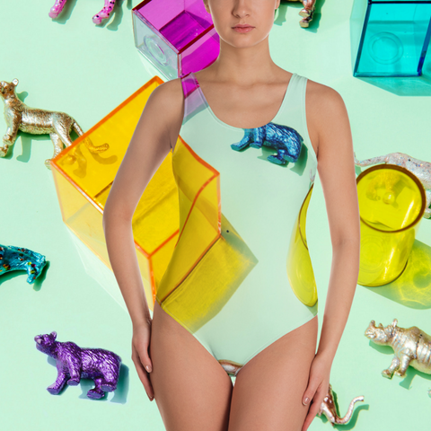 Play Zone One-Piece Swimsuit
