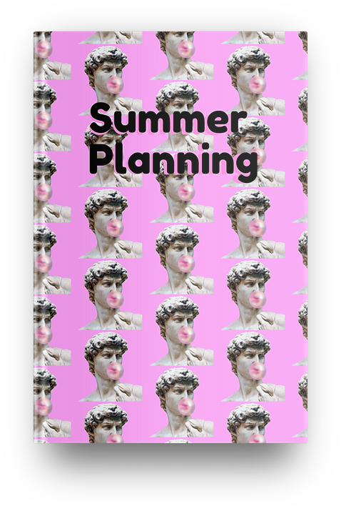 Summer Planning Notebook