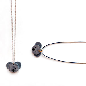 Koala necklace by Two boss beads