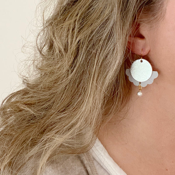 Statement earrings by Two boss beads