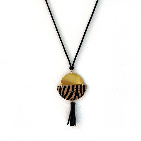 Pendant necklace by Two boss beads