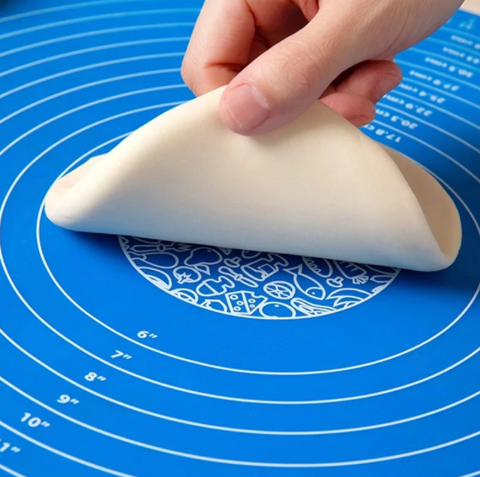 TODAY'S DEAL 10.99 Silicone Non-Stick Silicone Mat Rolling Dough Liner Pad