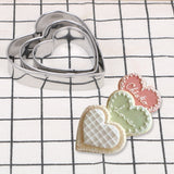 Star Heart Flower Cookie Cutters