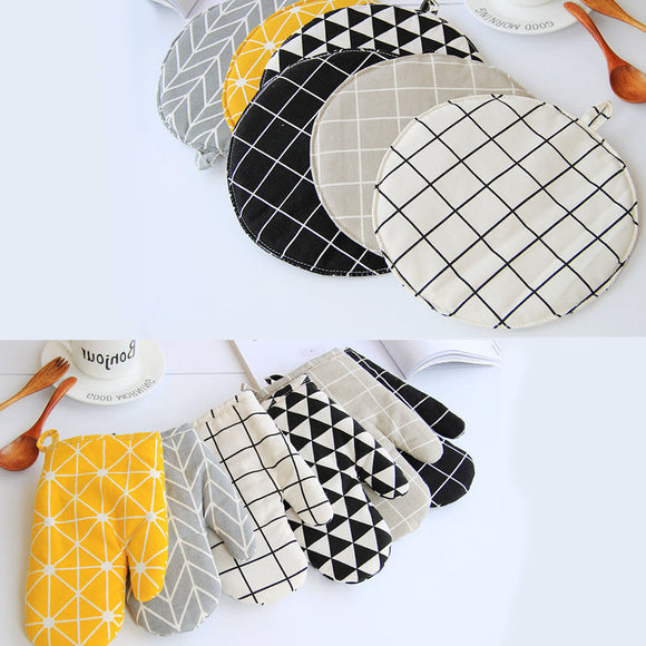 1 Piece Cute Non-slip Oven Mitts