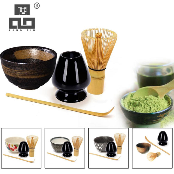 4pcs/set Traditional Matcha Giftset