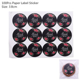 100pcs - 4 Sizes - Transparent Plastic Bags