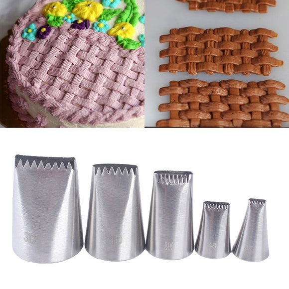 Stainless Steel Cake Icing Piping Nozzle