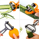 Multifunctional 360 Degree Rotary Peeler