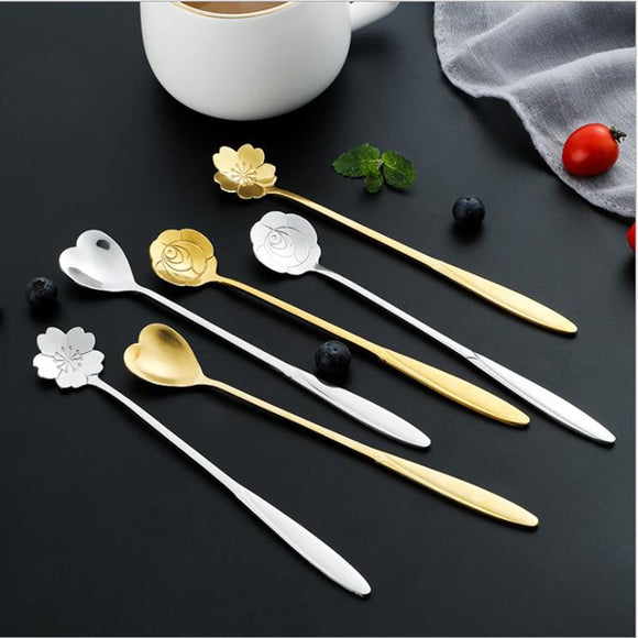Gold Tea And Coffee Spoon