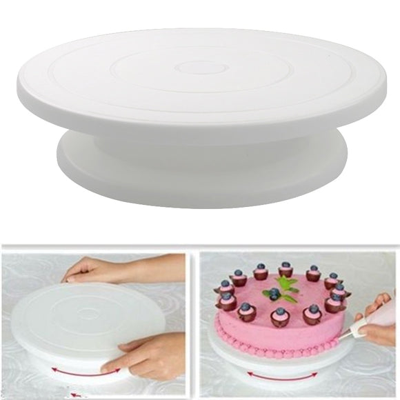 10 Inch Cake Rotating Anti-skid Round Cake Turntable Stand