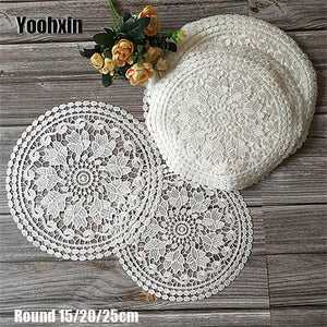 Water Soluble Embroidery Table Mat